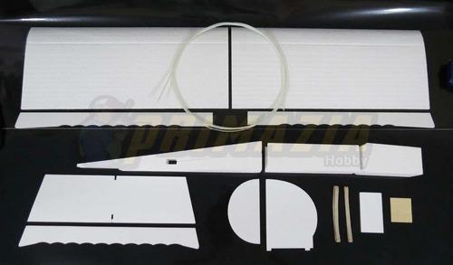 kit aeromodelo ugly stick 100cm montar p3 depron treinador