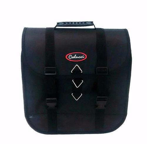 kit afastador + alforge mala 30 litros para moto xre 300