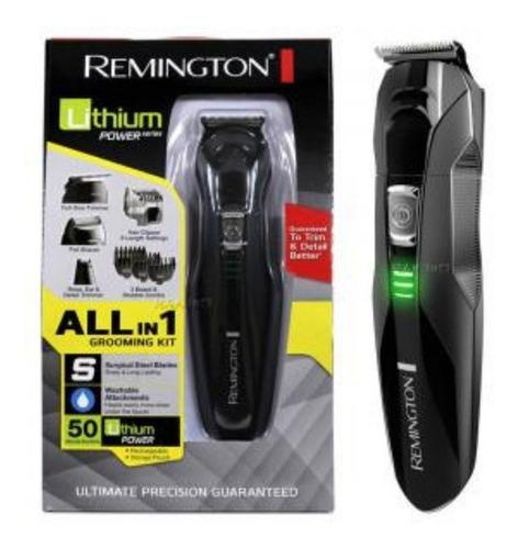 kit afeitadora recargable lavable todo en 1 remington 6025