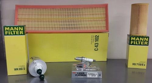 kit afinación mann filter y ngk bettle bora jetta 2.5l