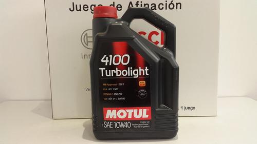 kit afinación seat ibiza 2002-2016 + aceite motul sintético