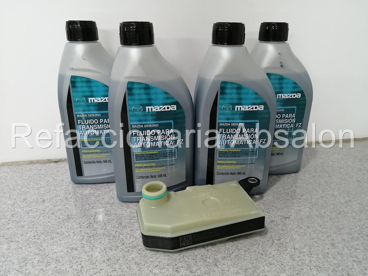 Kit Afinacion Transmision Mazda 2 3 Aceite Atf Y Filtro Oe
