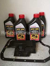 Kit De Afinacion Transmision U660 Toyota Aceite Filtro Junta