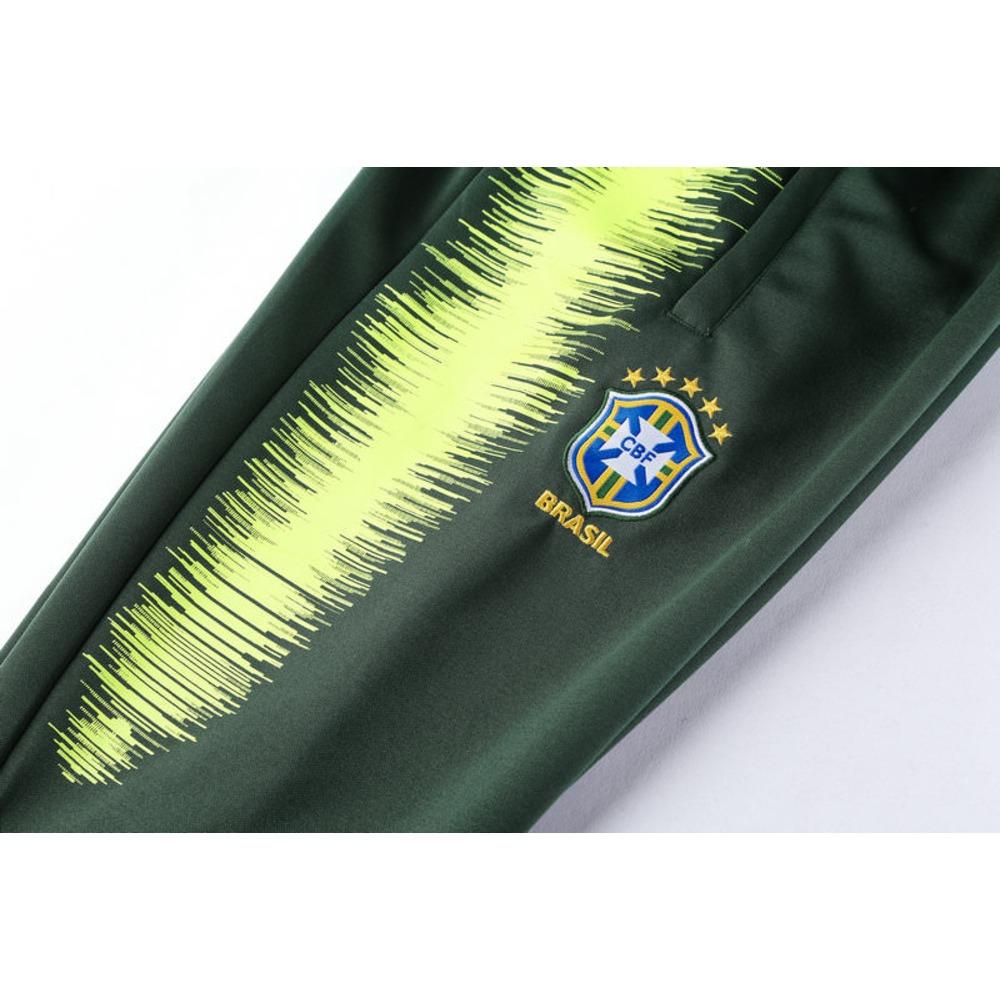 kit agasalho seleção brasil hino copa 2018. Carregando zoom. b2f843f2c7c1d