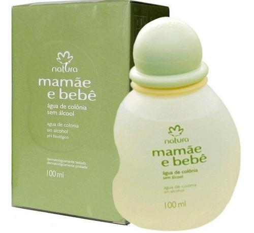 kit agua de colonia sem alcool e cx de sabonete/2 mamae/bebe