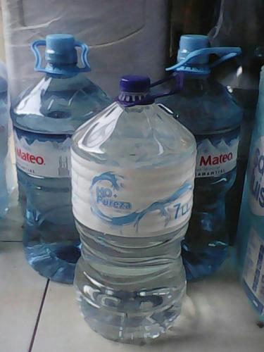 kit agua san mateo x 21 lts(surtidor+bidón+agua )