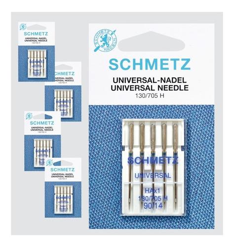 kit agujas schmetz universal p/máq. casera y pinzas bobina