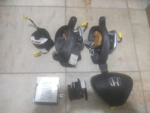 kit air bag do honda fit 2012 completo