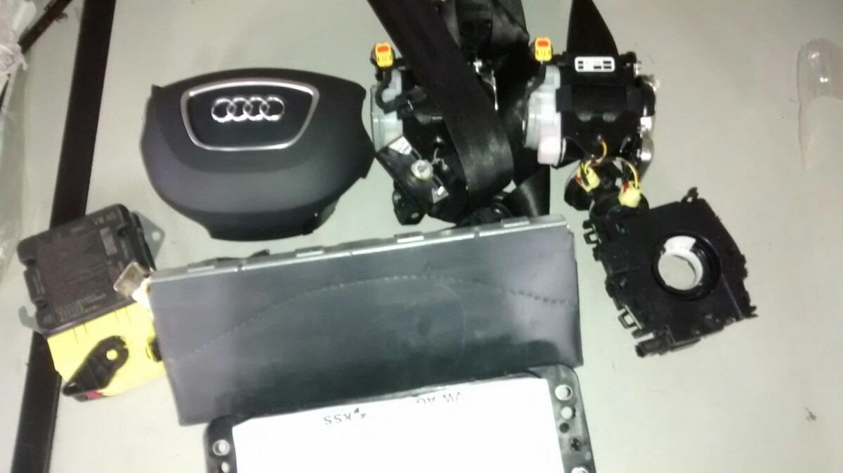 kit airbag audi a3 sportback 2013 2014 2015 r em mercado livre. Black Bedroom Furniture Sets. Home Design Ideas