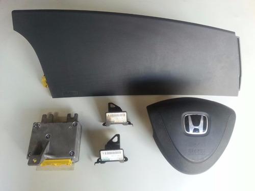 kit airbag duplo honda fit 2007
