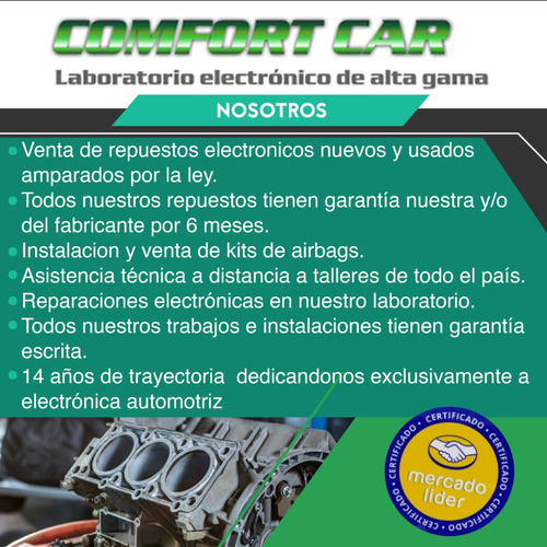 kit airbag peugeot 308 408  instalado - garantia