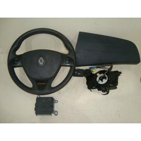 Kit Airbag Renault Sandero Logan 15 A 18 Botões 285584207r