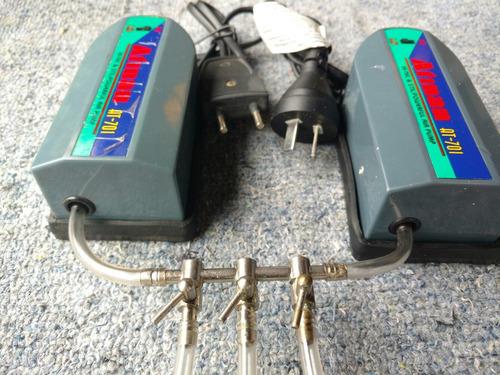 kit aireadores con regulador de 3 bocas aire