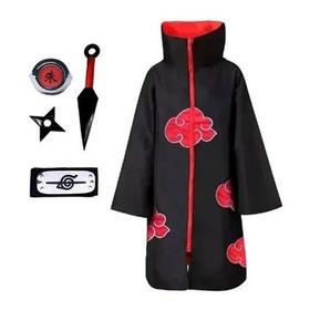 Kit Akatsuki + Kunai + Bandana Shuriken Naruto Itachi