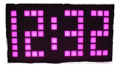 kit alarm led clock reloj ds3231