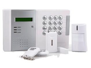 kit  alarma 16 zonas inalambricas 4 z cableadas lh-d8001