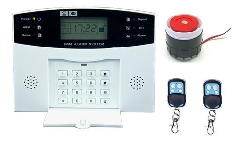 kit alarma casa inalambrica+chip español+config. llamando