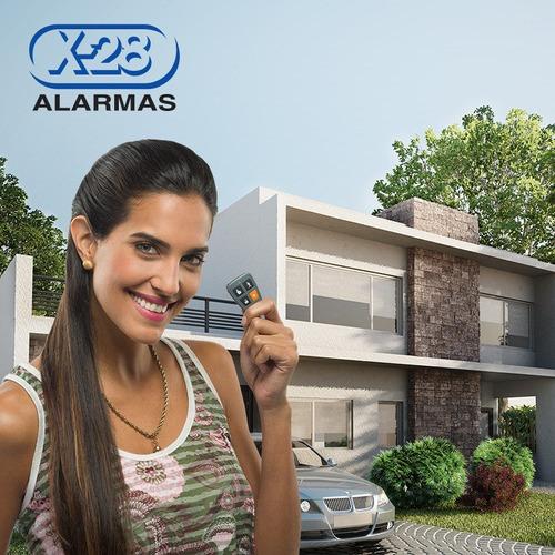 kit alarma casa x-28 inalám.8 zonas luz emergencia sms 6p