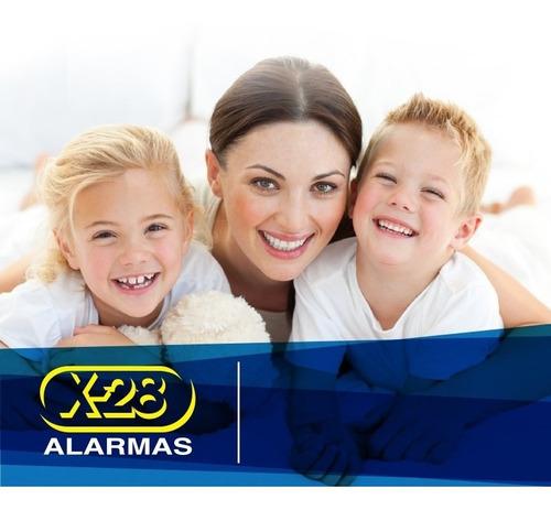 kit alarma casa x-28 inalámbrica 4 zonas ctrl sms 12