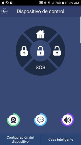 kit alarma de lujo por wifi-gsm-gprs-sms con app de celular