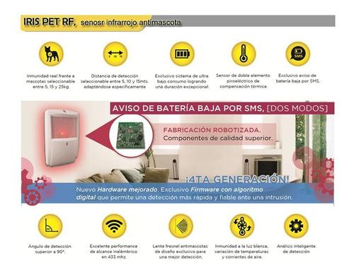 kit alarma domiciliaria inalambrica gsm marshall 3gt revo k