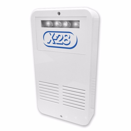 kit alarma domiciliaria x-28 full 8 zonas celular luz emerg