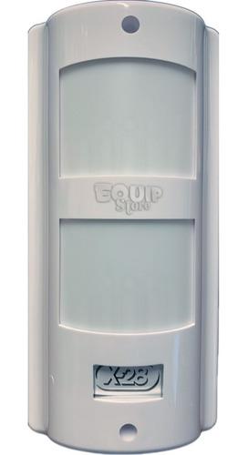 kit alarma domiciliaria x-28 sensores inalambricos exterior