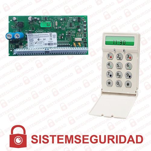 kit alarma dsc 1832 y 585 para empresas oficinas casas