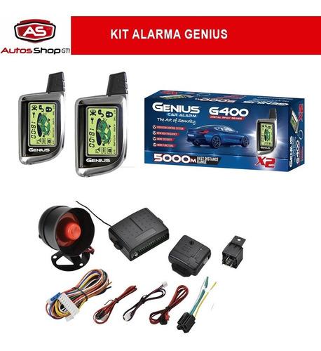 kit alarma genius cámara retro para autos, vehículos y motos