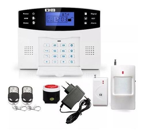 kit alarma gsm inalámbrica wireless monitoreo x celular