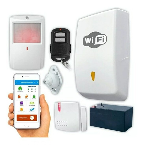 kit alarma inalámbrica marshall go wifi