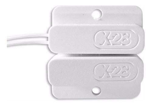 kit alarma local x-28 2 zonas inalámbrica llamador