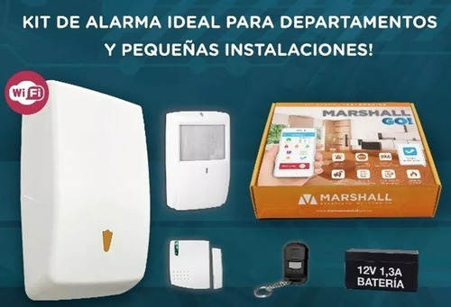 kit alarma marshall go city ip wifi 8 zonas