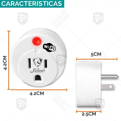 kit alarma vecinal wifi casa seguridad alerta 30w