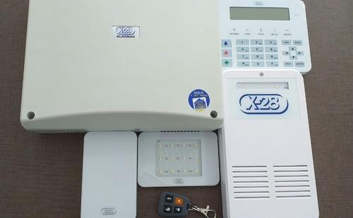 kit alarmas x28 monitoreo