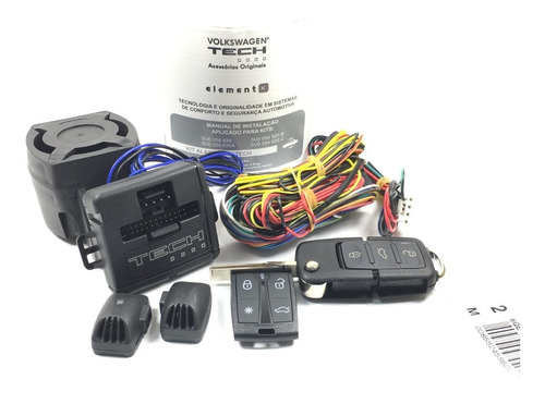 kit alarme kostal original vw g5/g6/gol/voy/sav/up/fox