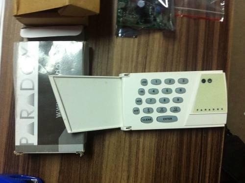 kit alarme ps710-u central posonic + teclado parodox