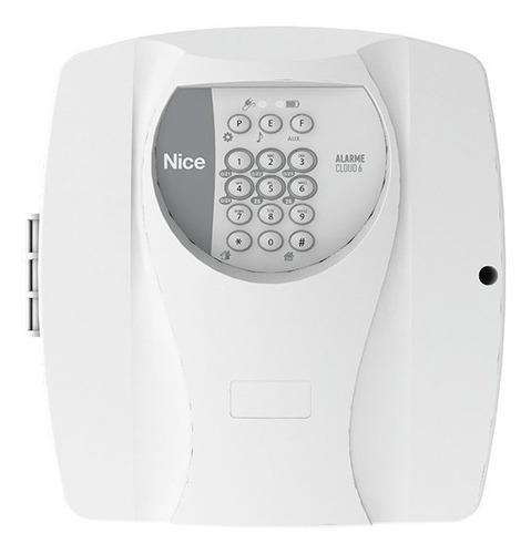 kit alarme residencial casa comercial nice genno sem fio