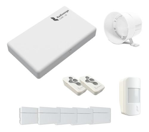 kit alarme residencial casa comercial radioenge sem fio