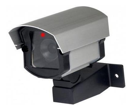 kit alarme residencial ecp c/ 7 sensores s/ fio + cam falsas