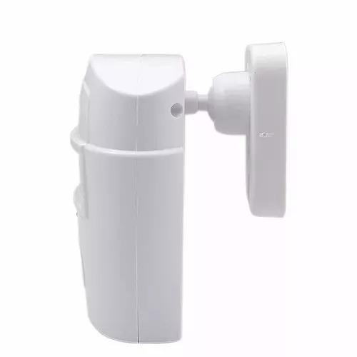 kit alarme residencial sem fio sensor sirene 2 controles