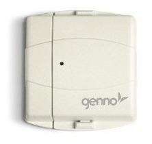 kit alarme residencial + sensor s/ fio genno + discadora gsm