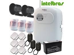 kit alarme sem fio intelbras - premium anm 2004/3004
