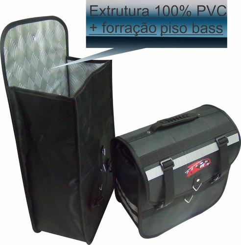 kit alforge 30 litros+ afastador bross 150/160