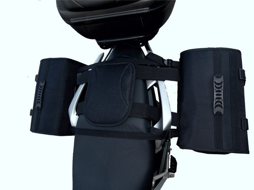 kit alforge 35 litros+ afastador bross 150/160 click rápido