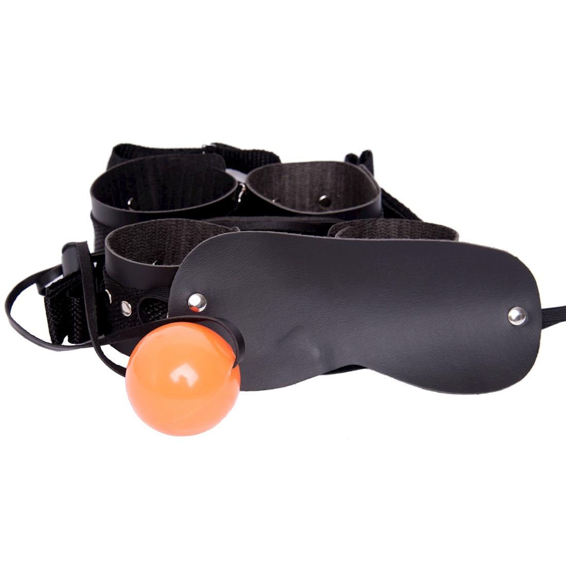 kit algema e tornozeleiras com tiras bola e venda. Carregando zoom. 0935269bf7663