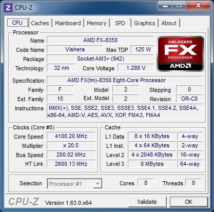kit amd fx8350 +placa mãe asus  formula +8gb a vista 1599.99