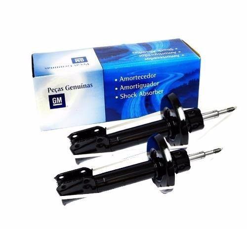 kit amortecedor dianteiro + traseiro cobalt completo gm