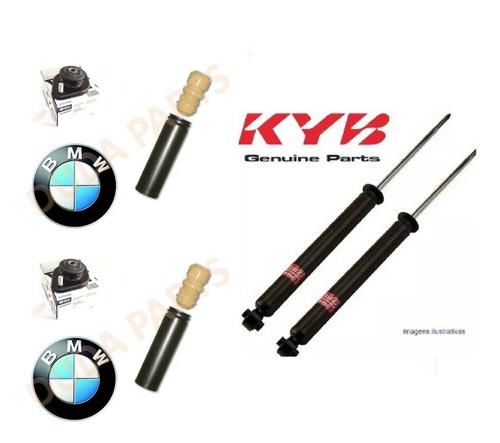 kit amortecedor tras + kit coxim bmw e46 98/05