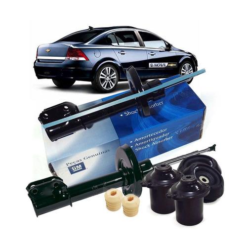 kit amortecedores dianteiros e batentes vectra 2006 a 2012
